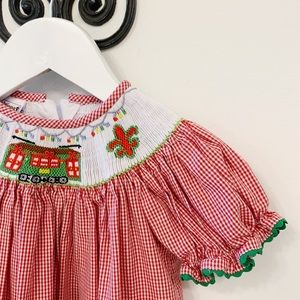 Other - Smocked Streetcar Dress